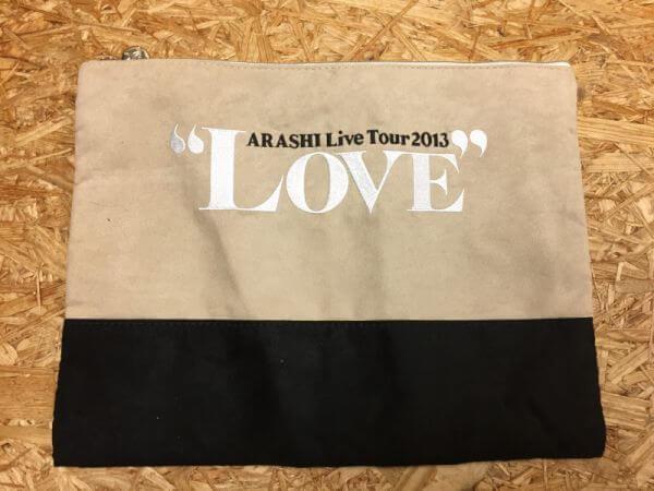 嵐の「LOVE」コンサートのポーチ